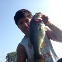 Late summer bassin'