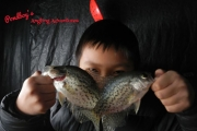 COTD Dupage Angler KIds Have Great Day Ice Fishing