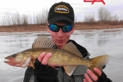 COTD 18 Inch Toothy Walleye On Tip-UP