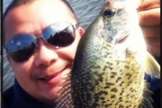 DuPage Angler Fights Windy Day Crappies